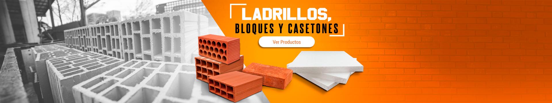 Ladrillos, bloques y casetones Para la Construcción