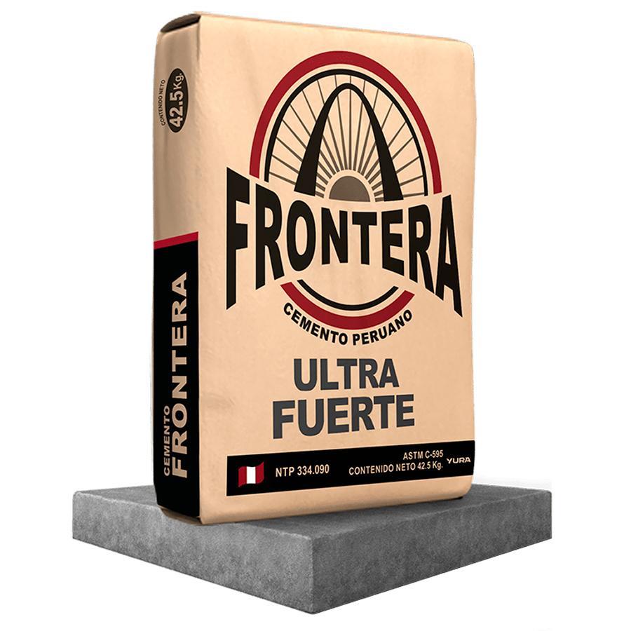Cemento Frontera Puzolánico Gu Ultra Fuerte 42.5 Kg