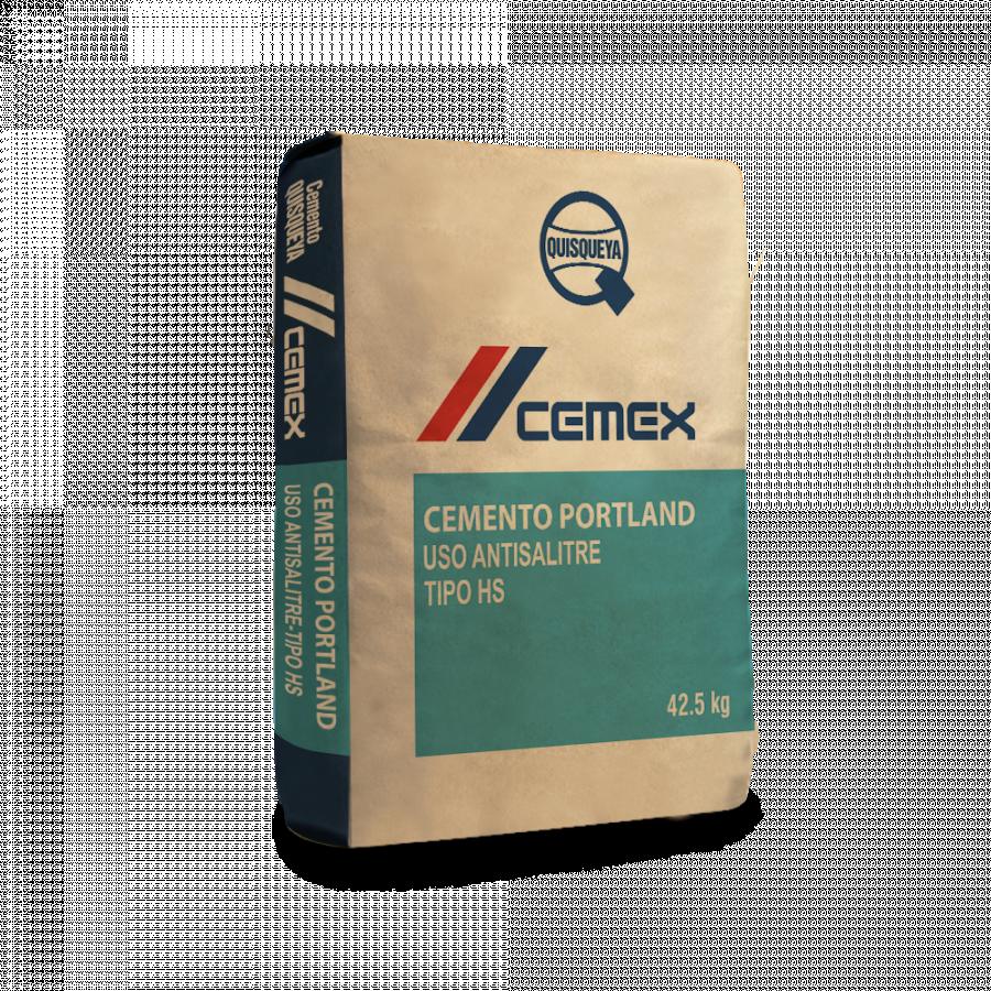 Cemento Cemex Quisqueya Uso Antisalitre Tipo HS