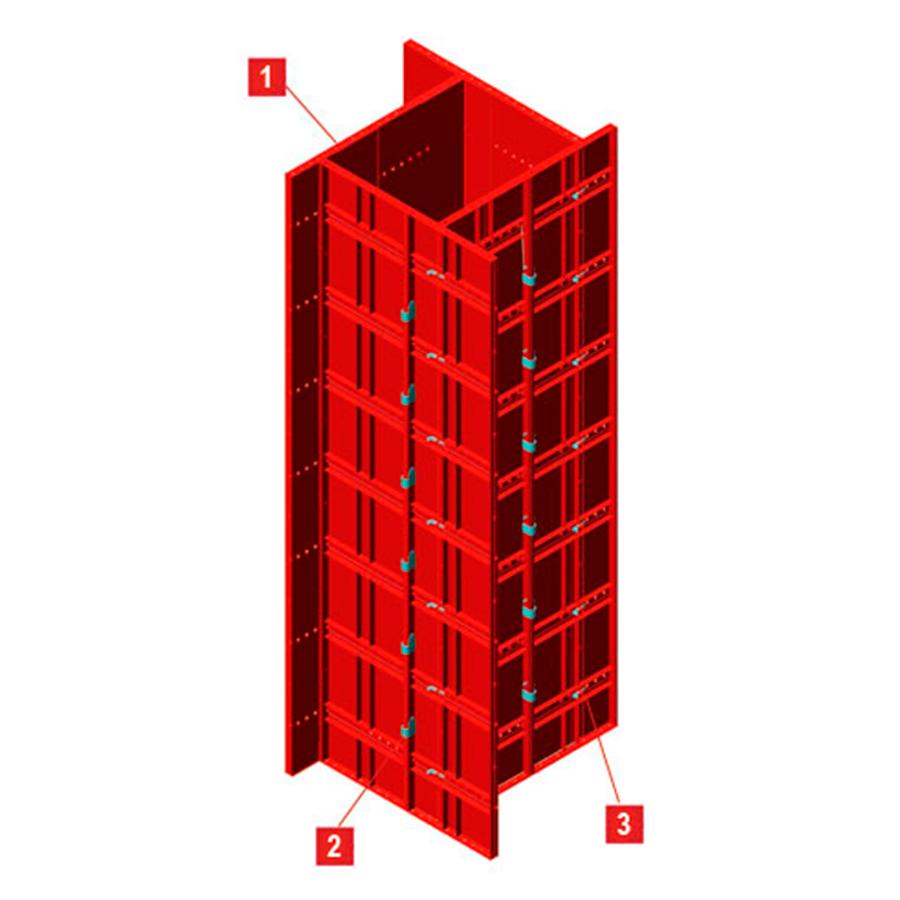 Puntales Metálicos para Columnas y Placas