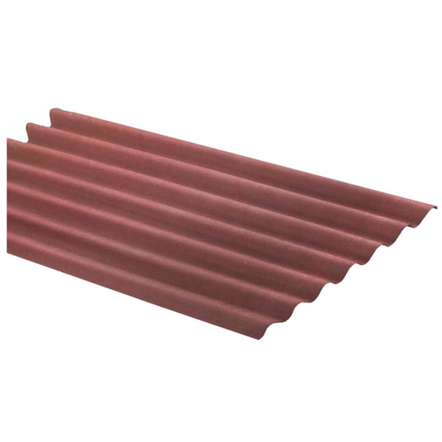 Techo Onduline Rojo 2m x 0.95m