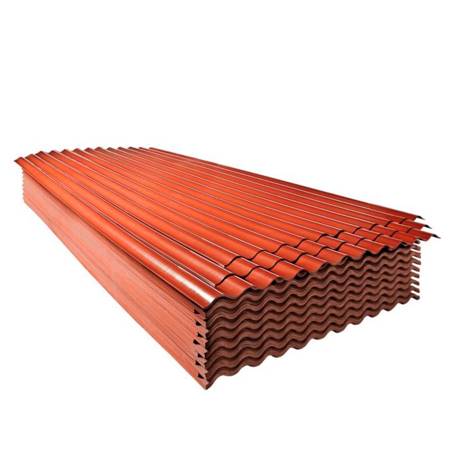Techo de Polipropileno Rojo 1.1 mm 3.05 x 1.10 m