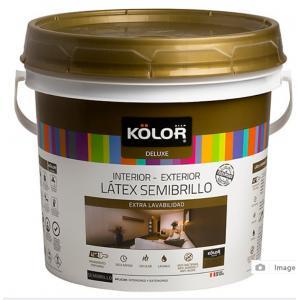 Látex Semibrillo Accent 4l Kolor