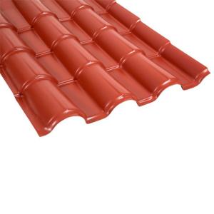 Techo de Polipropileno Rojo 1.15 x 0.76 m